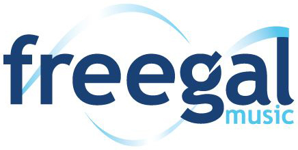 Freegal music service logo.